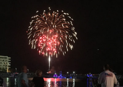 End your night with a bang on our Fireworks Cruises every Thursday night in the summer.