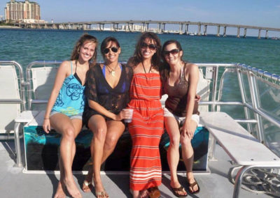 Make your family reunion or Girls Weekend a memorable time on the water.