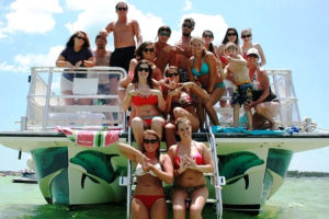 private cruises destin florida group hearts