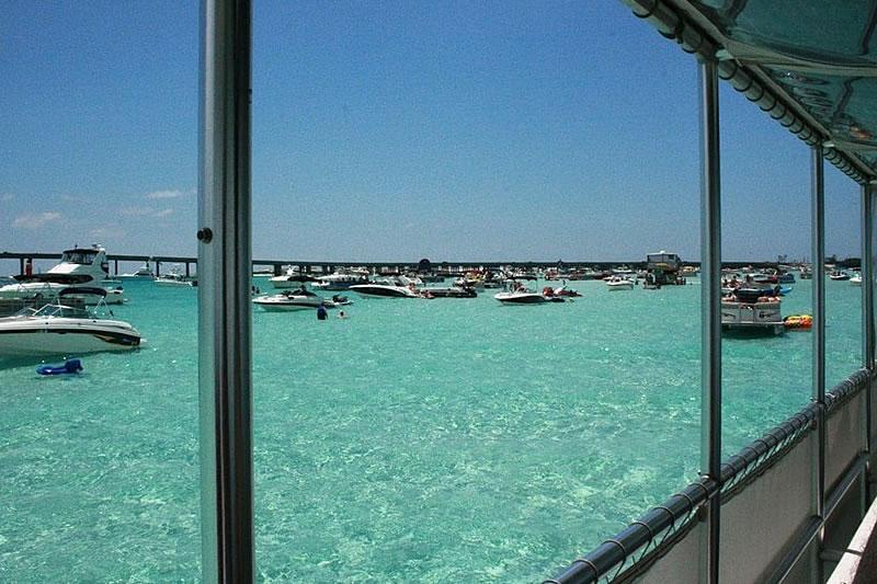 destin crab island boat rentals