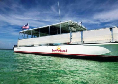 pontoon boat rentals destin fl_sunventure I