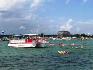 sunventure cruises crab island 2019